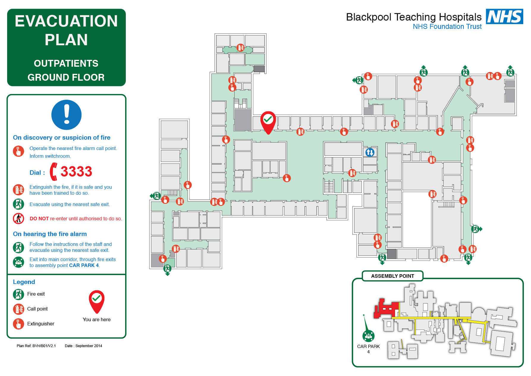 Nhs Evacuation Plan  Fire Evacuation Plans