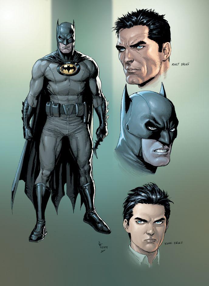 Dark Chambers: DC Spotlight - Batman: Earth One = All the double-takes
