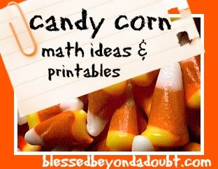 Candy Corn Place Value Worksheet And More Blessed Beyond A Doubt Preschool Math Homeschool Math Homeschool Holidays