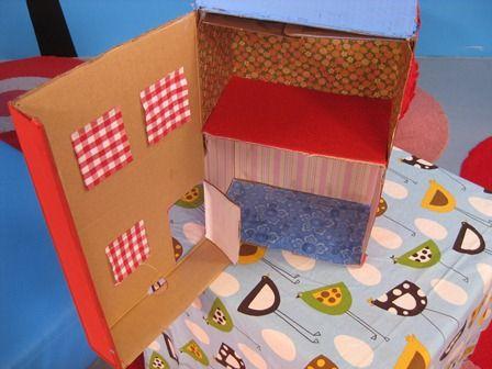 Shoebox Dollhouse Doll House Shoe Box Crafts