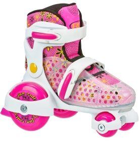 Roller Derby Girls' Fun Roll Adjustable Quad Roller Skates - Dick's Sporting Goods