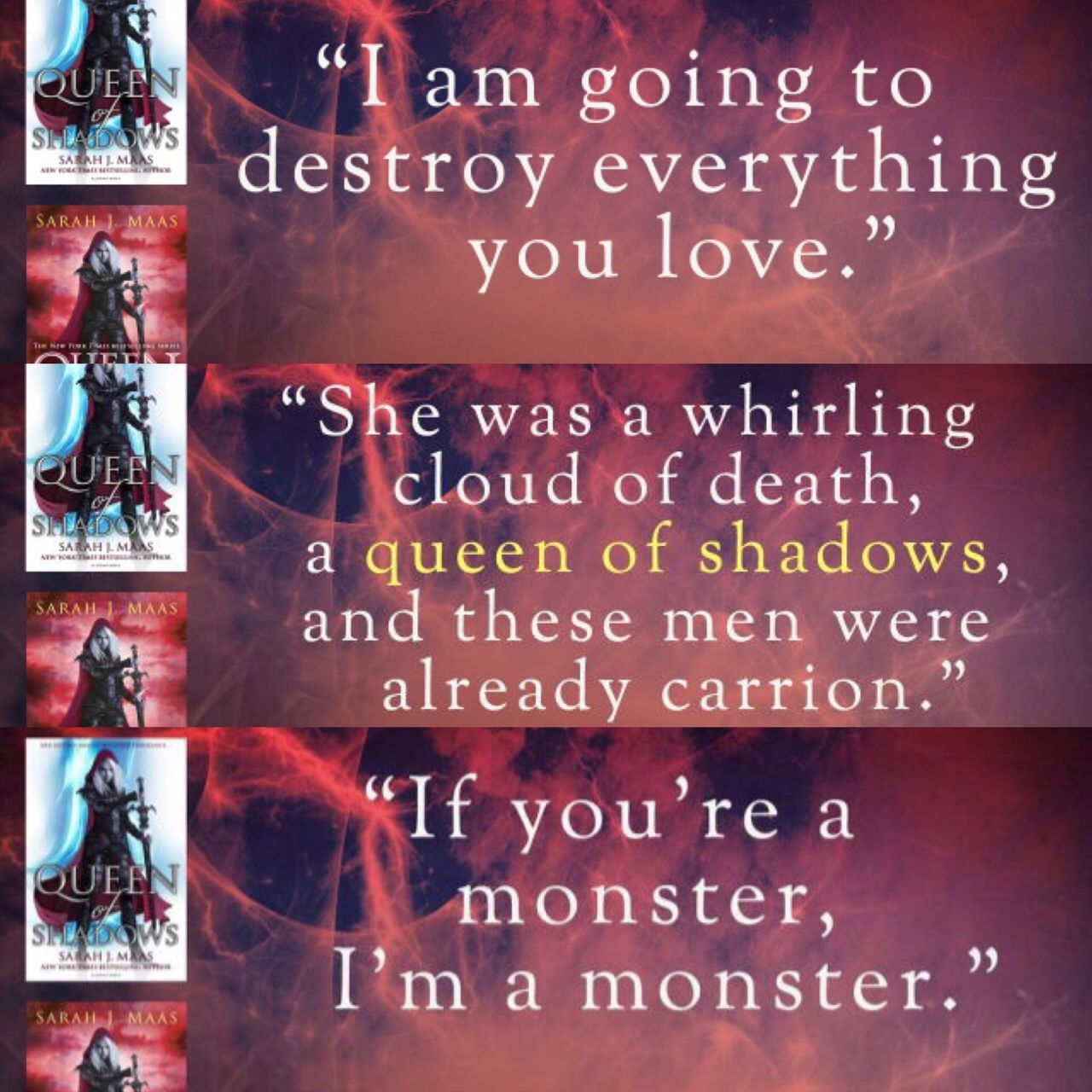 Are These Quotes From Queen Of Shadows Where Did They Come From