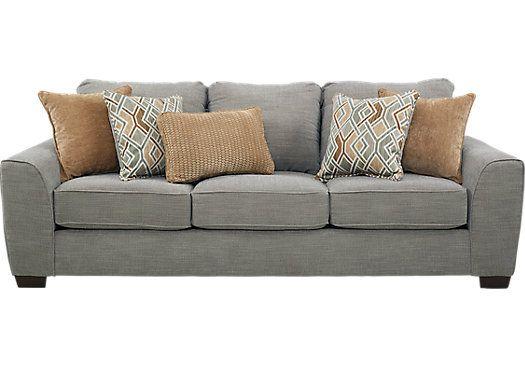 Ivyleigh Silver Sofa Sofas Gray