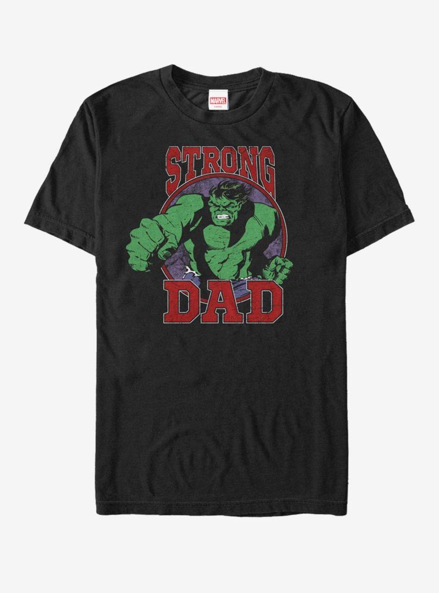 f4ac4cf17 Marvel Hulk Strong Dad T-Shirt in 2019   Products   Hulk, Hulk ...