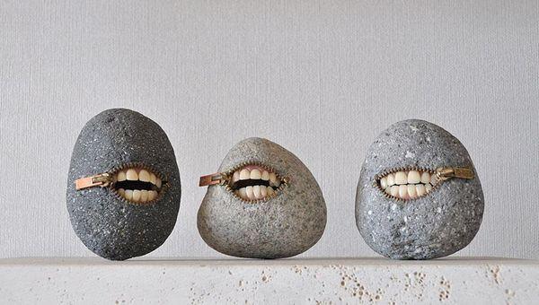 Skurrile Steine von Hirotoshi Ito
