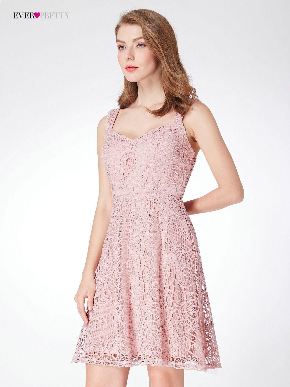 e59eaafb1d6c फीता दुल्हन की पोशाक कभी कभी सुंदर ईपी04038 घुटने की लंबाई महिला  सुरुचिपूर्ण आस्तीन ...