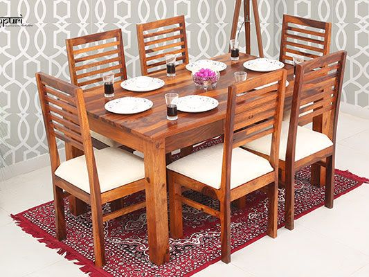 Looking For Carlos 6 Seater Dining Set with with Cushion ...