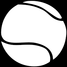 Image Result For Tennis Clipart Black And White Tennis Ball Black And White Tennis