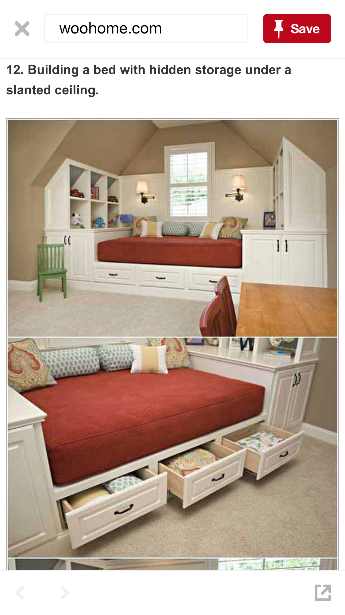 - Pin By Carole Jones On Bedroom Ideas Daybed With Storage, Built