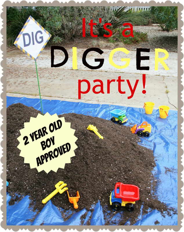Theglamoroushousewife Wp Content Uploads 2012 11 Party Digger Birthday Parties
