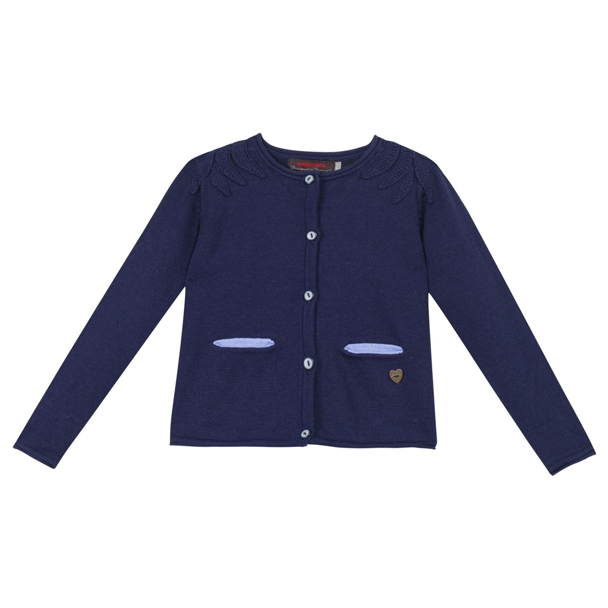 Manteau catimini bleu marine