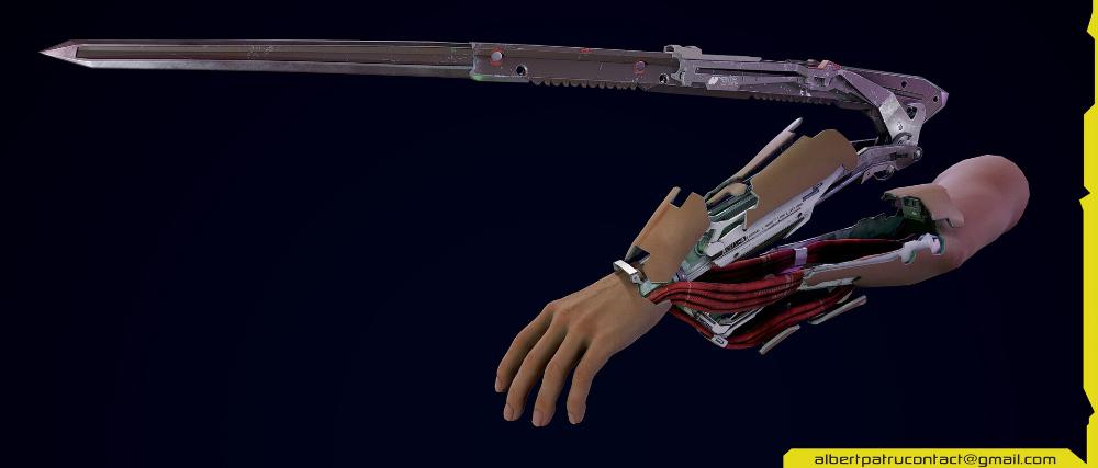 Artstation Cyberpunk 2077 Mantis Blades Albert Patru Cyberpunk Cyberpunk 2077 Blade