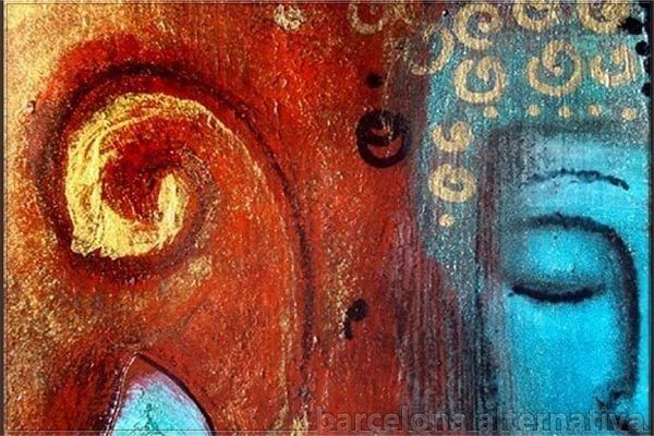 Resultado de imagen de Los 4 pensamientos que hacen girar la mente hacia el Dharma