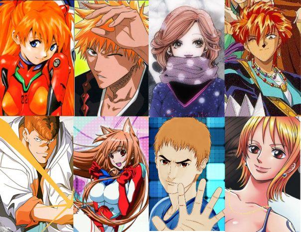 Animehairorange