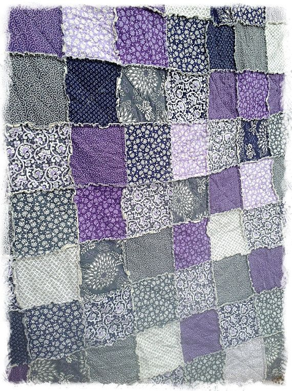 Ready To Ship Twin Xl Rag Quilt Extra Long Phoebe