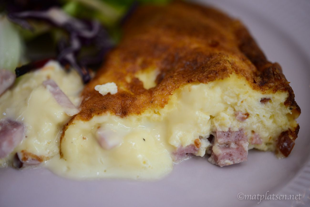 ost och skinkpaj lchf