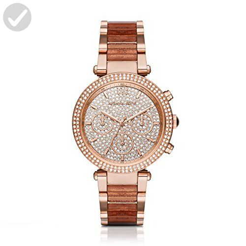 Michael Kors Women's Parker Rose Gold-Tone Watch MK6285 - All about women (*Amazon Partner-Link)