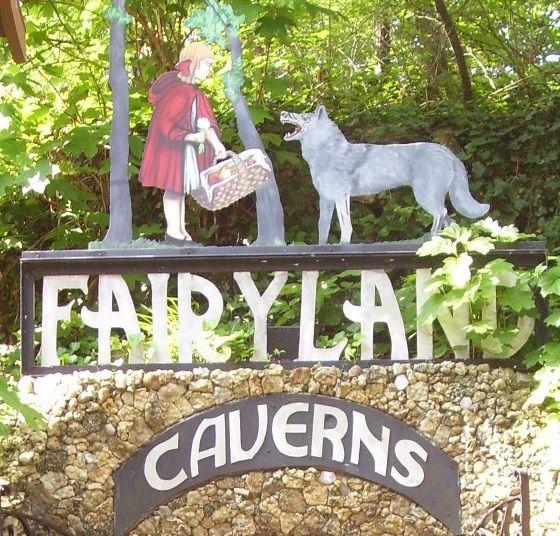Fairyland Caverns Rock City Ga With Images Fairy Land Cavern City