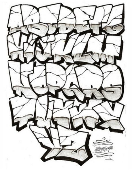 graffiti letters az graffiti alphabet letters a z