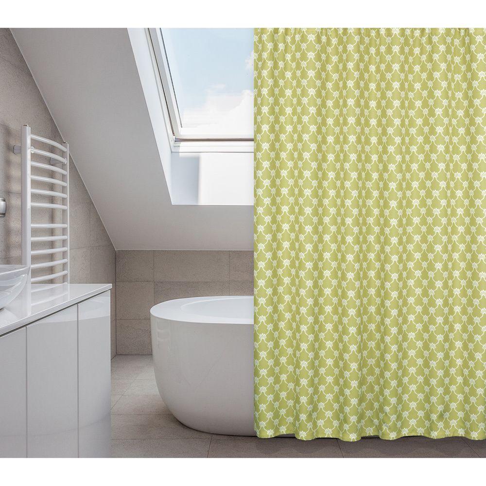 Manhattan Green Grapes 14 Piece Shower Curtain Set Green Shower