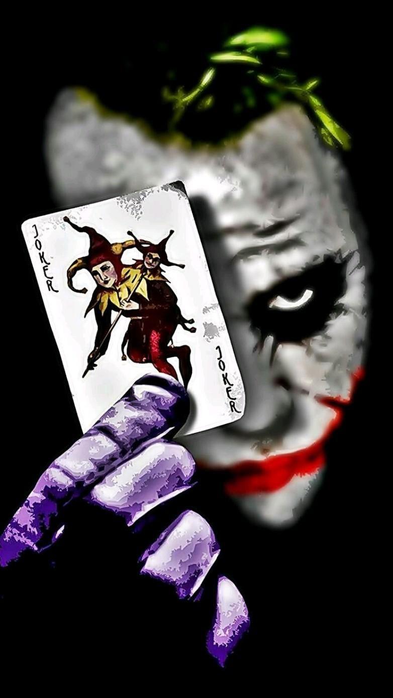 Joker HD iPhone Wallpaper