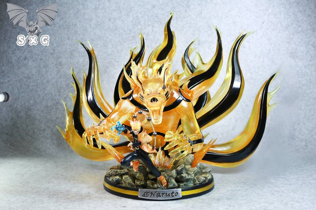 Sxg Studio Sage Of Six Path Kurama Naruto Resin Statue Collectible