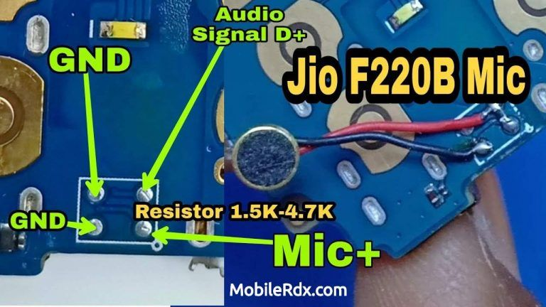 Lyf Jio F220b Mic Ways Solution How To Install China Mic