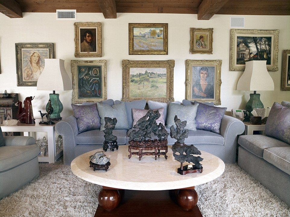 Superb K Home Design Nimes Part - 5: Elizabeth Tayloru0027s House, Bel Air Much Of Elizabeth Tayloru0027s Art Collection  Went Under The Hammer At Christieu0027s London In This Includes The Degas Self  ...