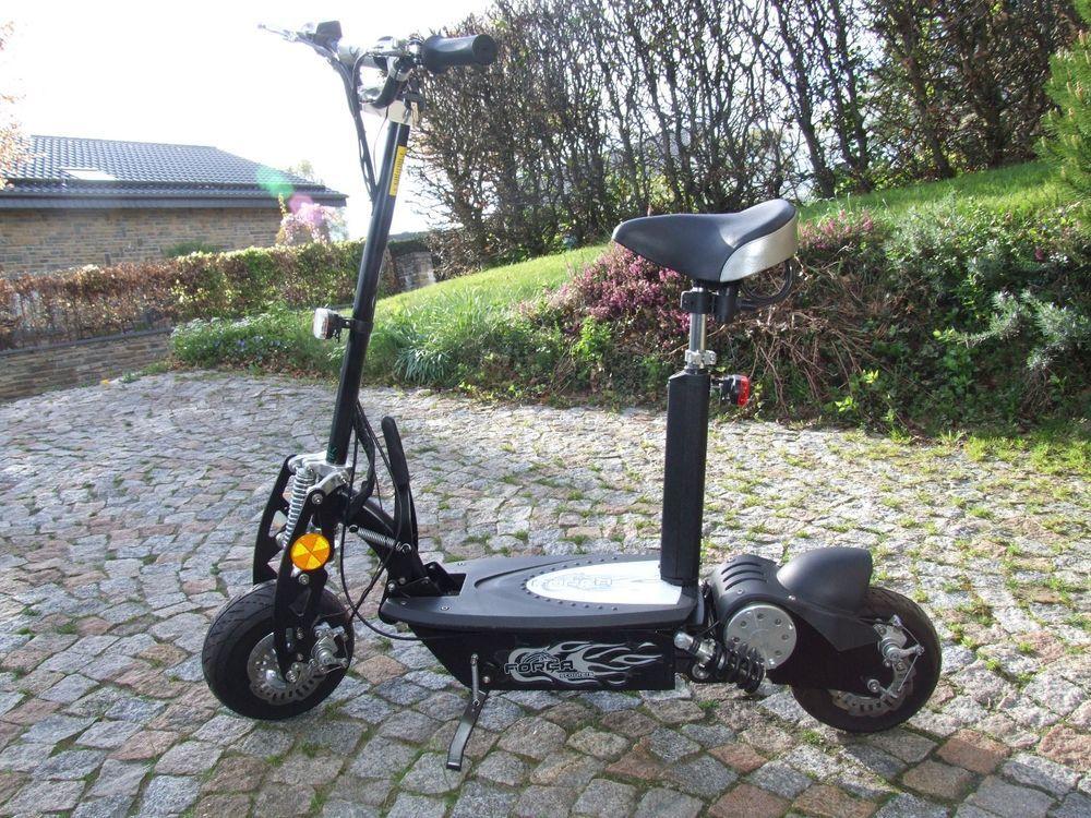 Forca E Scooter 1000w 45km H Schneller Elektro Roller E Bike Elektroroller Sport Funsport Elektro Scooter Ebay Elektroroller Elektro Scooter Elektro