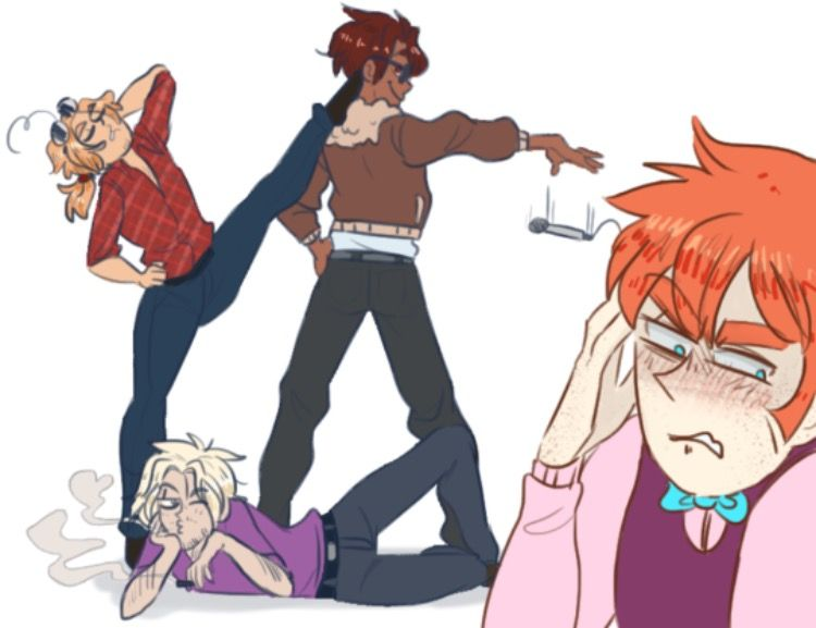 Just an average day with the 2p face family hetalia
