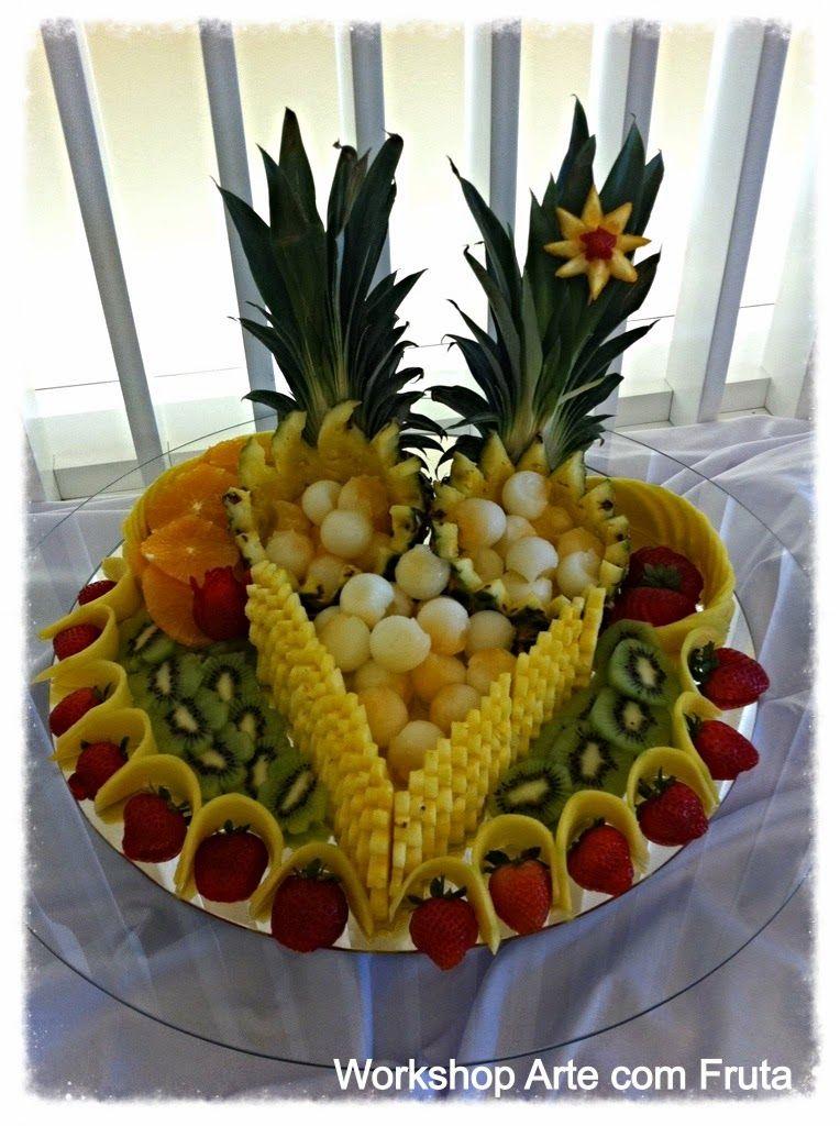 Arte com fruta e legumes displays pinterest