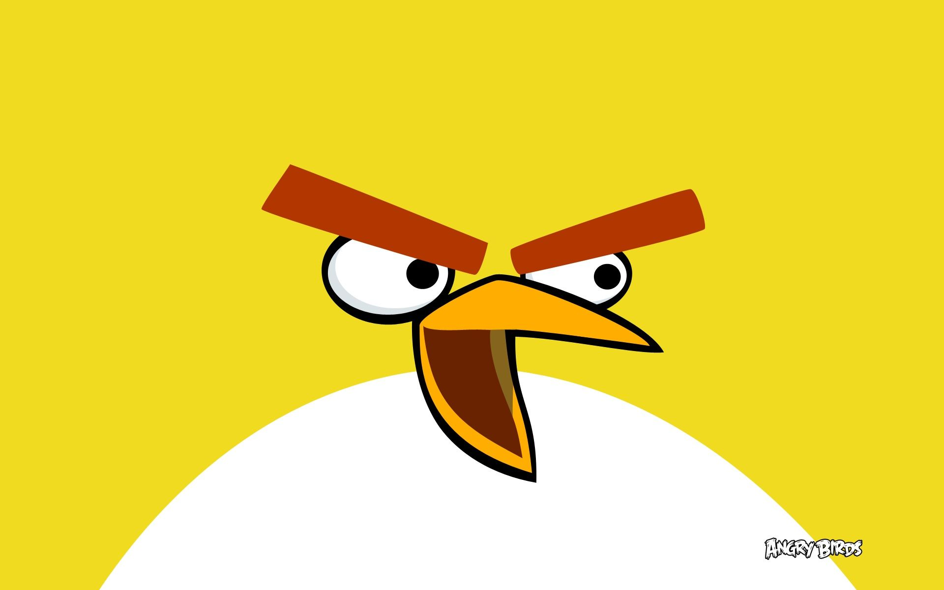 yellow bird in angry birds Wallpapers    #hdwallpapers #yellow #wallpapers #birds #bird