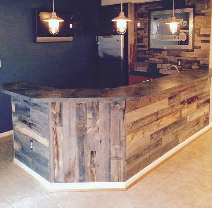 Grey Basement Ideas: 24 Awesome Basement Bar Ideas Corner #basement #bar #ideas