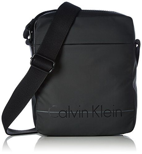 Calvin Klein Jeans LOGAN 2.0 REPORTER, Sacs bandoulière homme - Noir -  Schwarz (BLACK