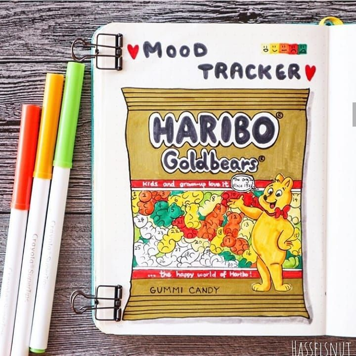 17 Creative Mood Trackers for Your Bullet Journal - Beautiful Dawn