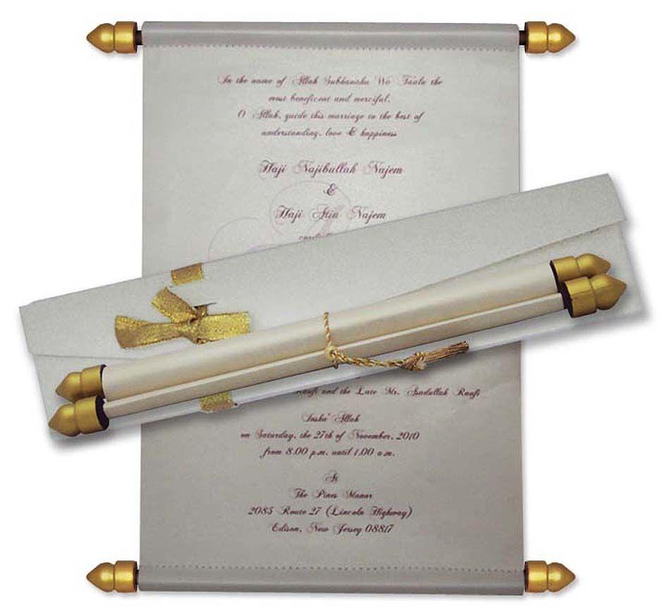 cinderellthemed wedding scroll invitations%0A Image result for scroll like wedding invitations