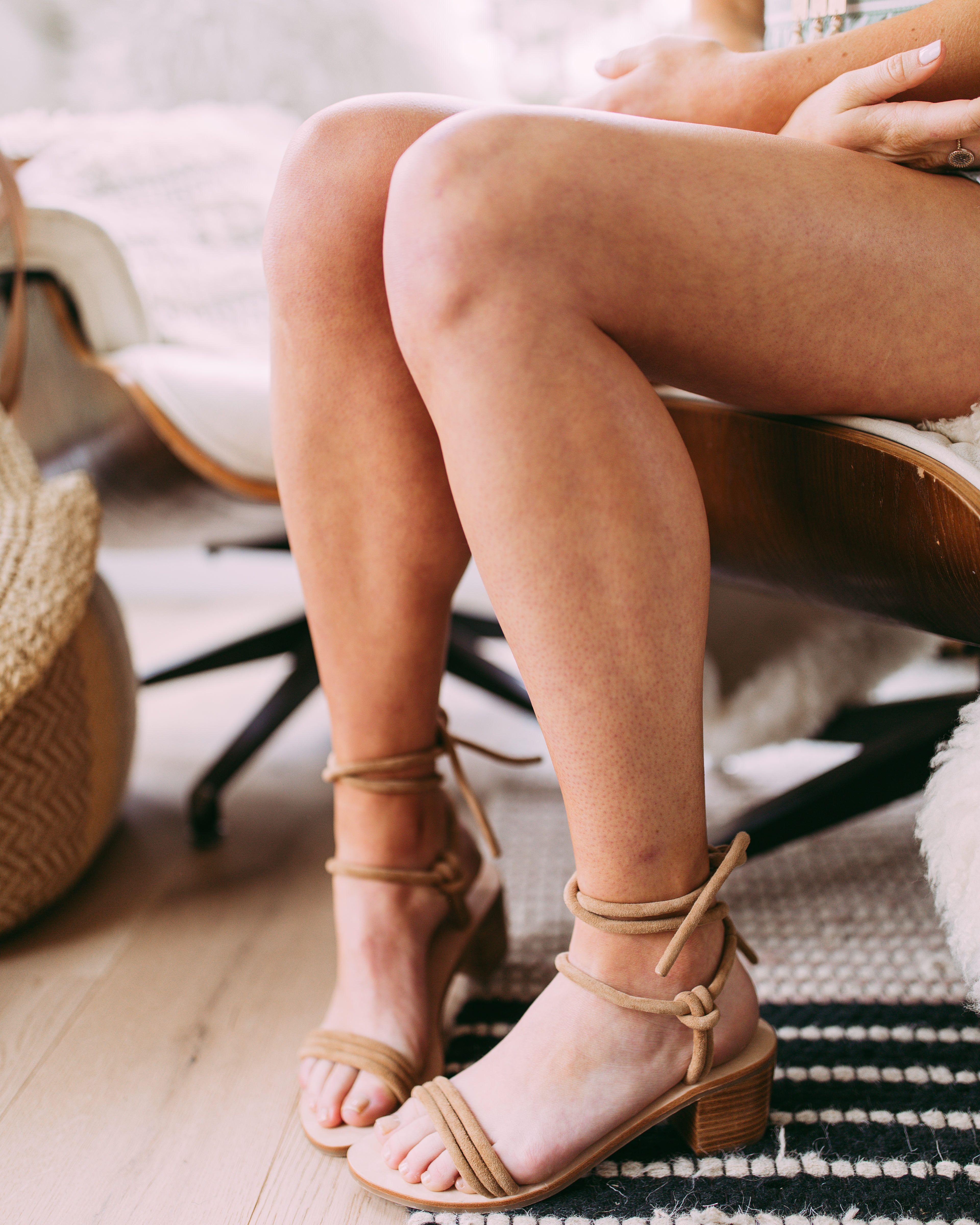 faa5f7da996 Emma Wrap Heel    Sol Sana does it again with this sandal. The block