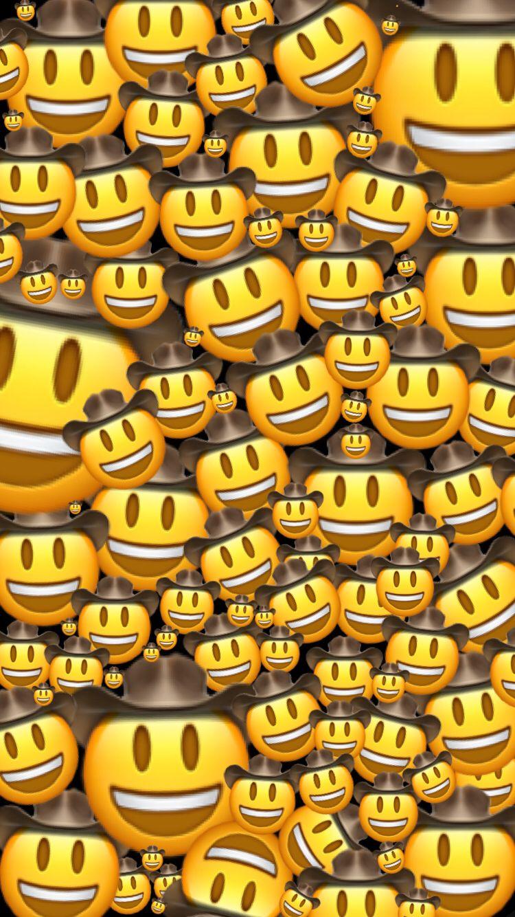 With images) Emoji wallpaper iphone, Emoji wallpaper