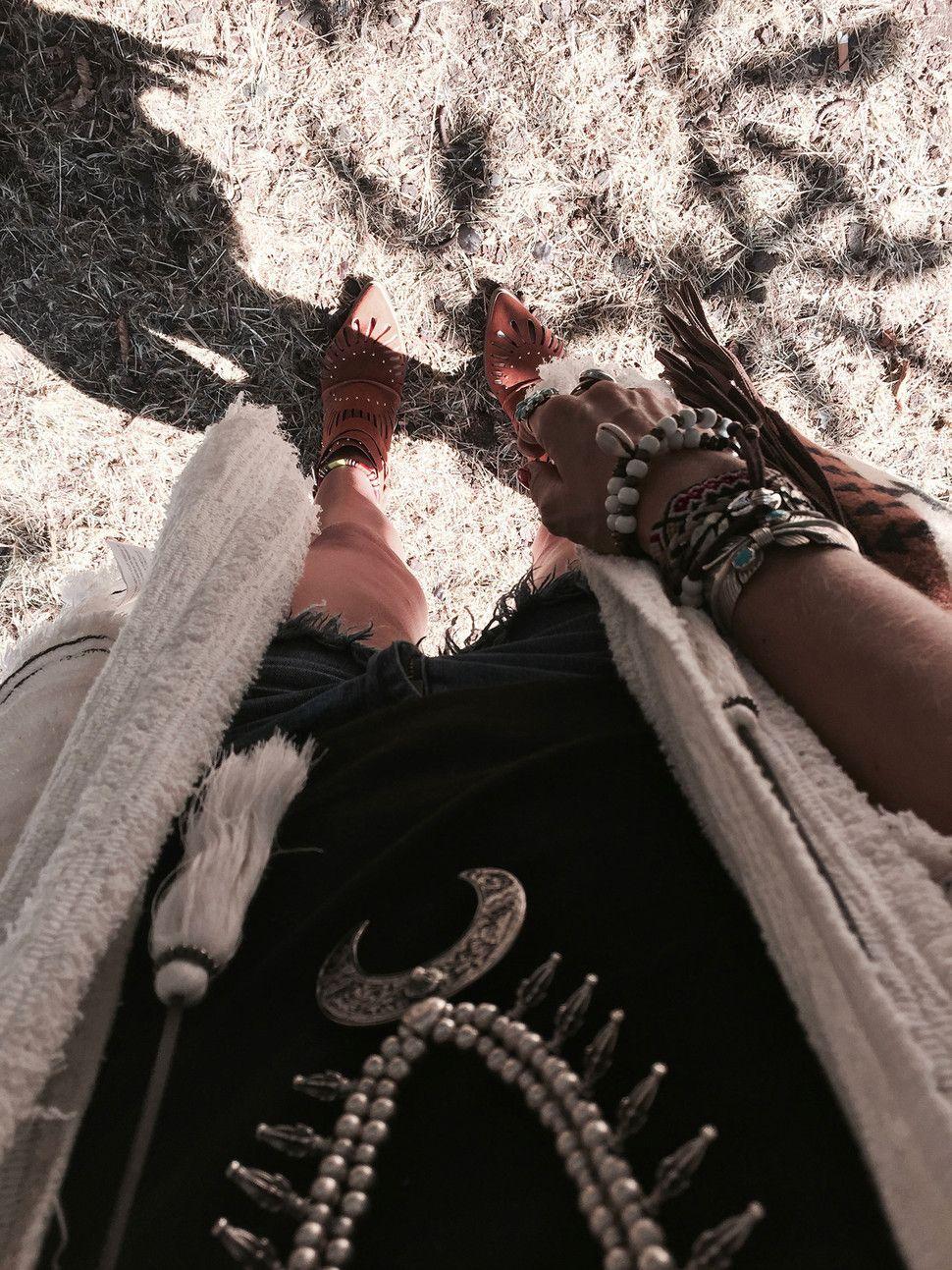 ROCK EN SEINE FESTIVAL W/ PULL AND BEAR Little boho blog - Fashion and travel blog  #fashion #blogger #outfit #festival #pullandbear