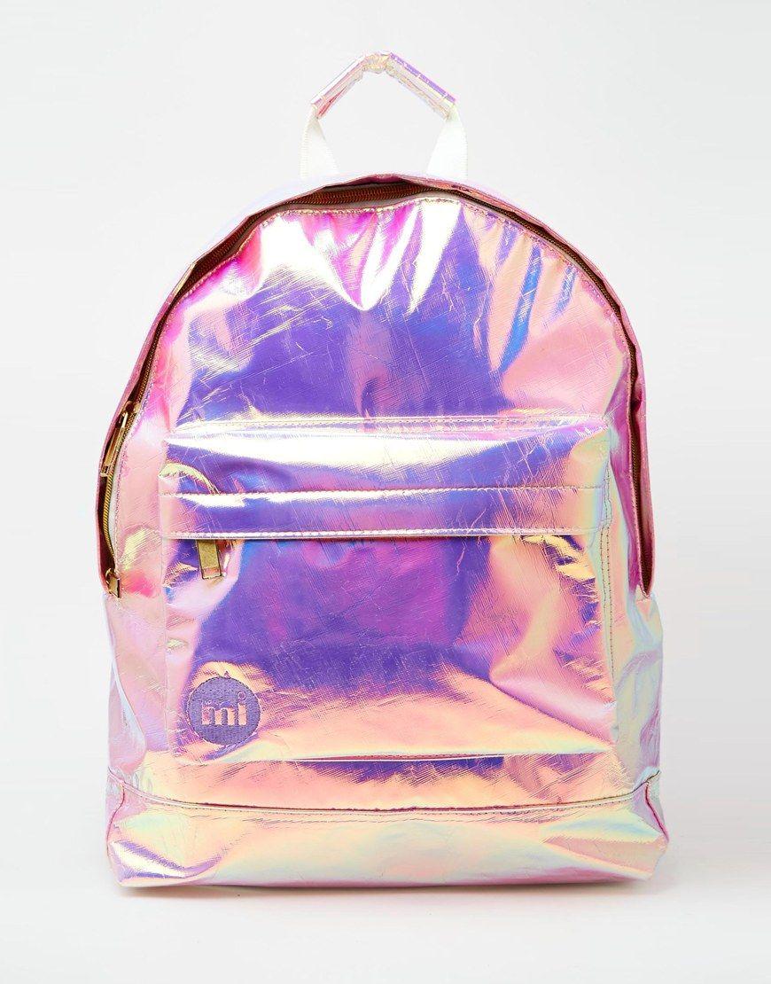 Image 1 of Mi-Pac Backpack in Hologram   School   Backpacks, Bags ... 2cadee87dc