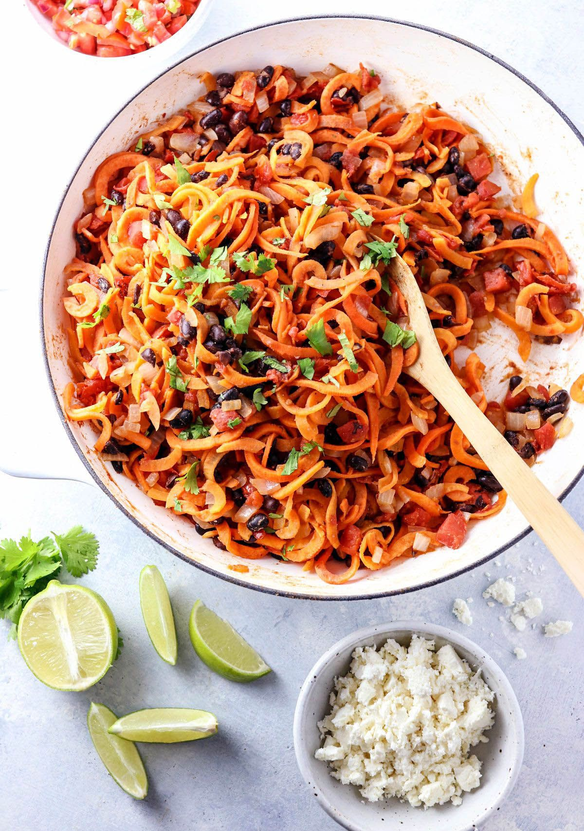 the best sweet potato casserole   spiralizer recipes