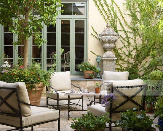 french courtyard design - Google Search   Garden ideas   Pinterest ...