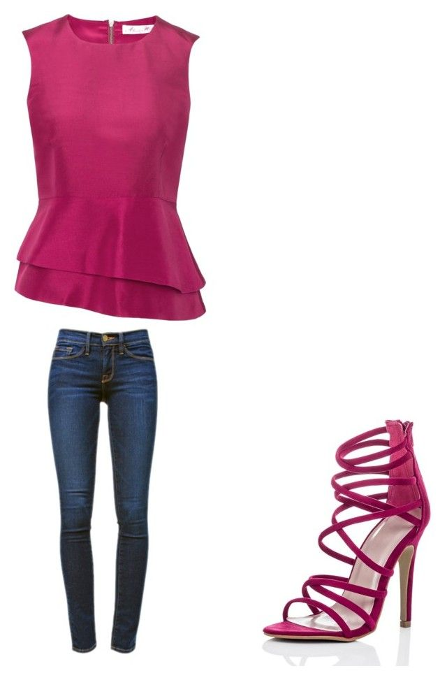 """🙃"" by melodyleighmitchell on Polyvore featuring Frame Denim"