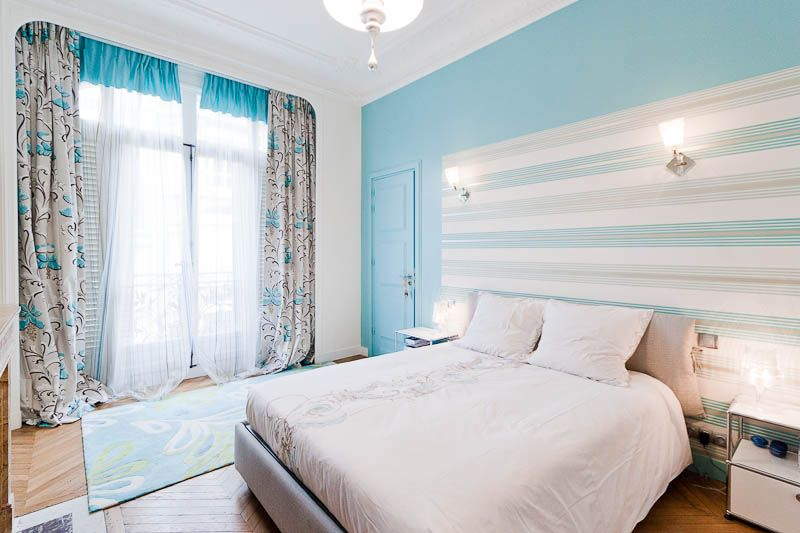 Grand appart classique et contemporain : chambre | Deco | Pinterest ...