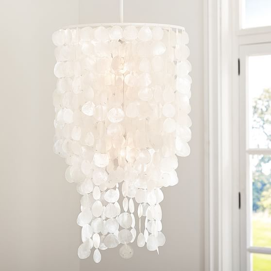 Sale pb teen oversize capiz chandelier white my room sale pb teen oversize capiz chandelier white aloadofball Images