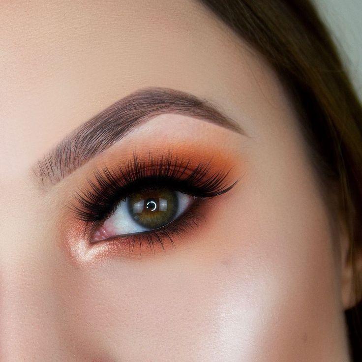 Fashiontrends Maquillaje De Color Naranja Maquillaje De Otoño Looks De Maquillaje