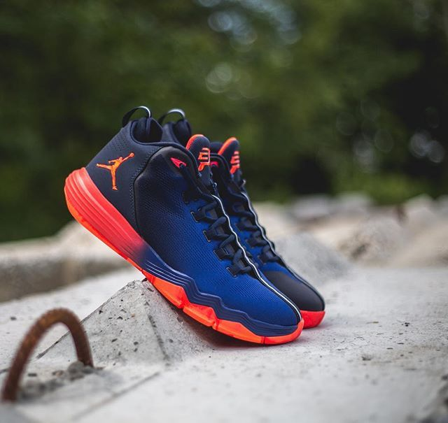 7e2c48f3791b Nike Air Jordan CP3.IX AE  Obsidian Infrared Deep Royal
