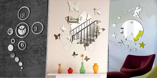 Fancy Decorative Wall Mirrors (available in 20 designs) for RM48 ...