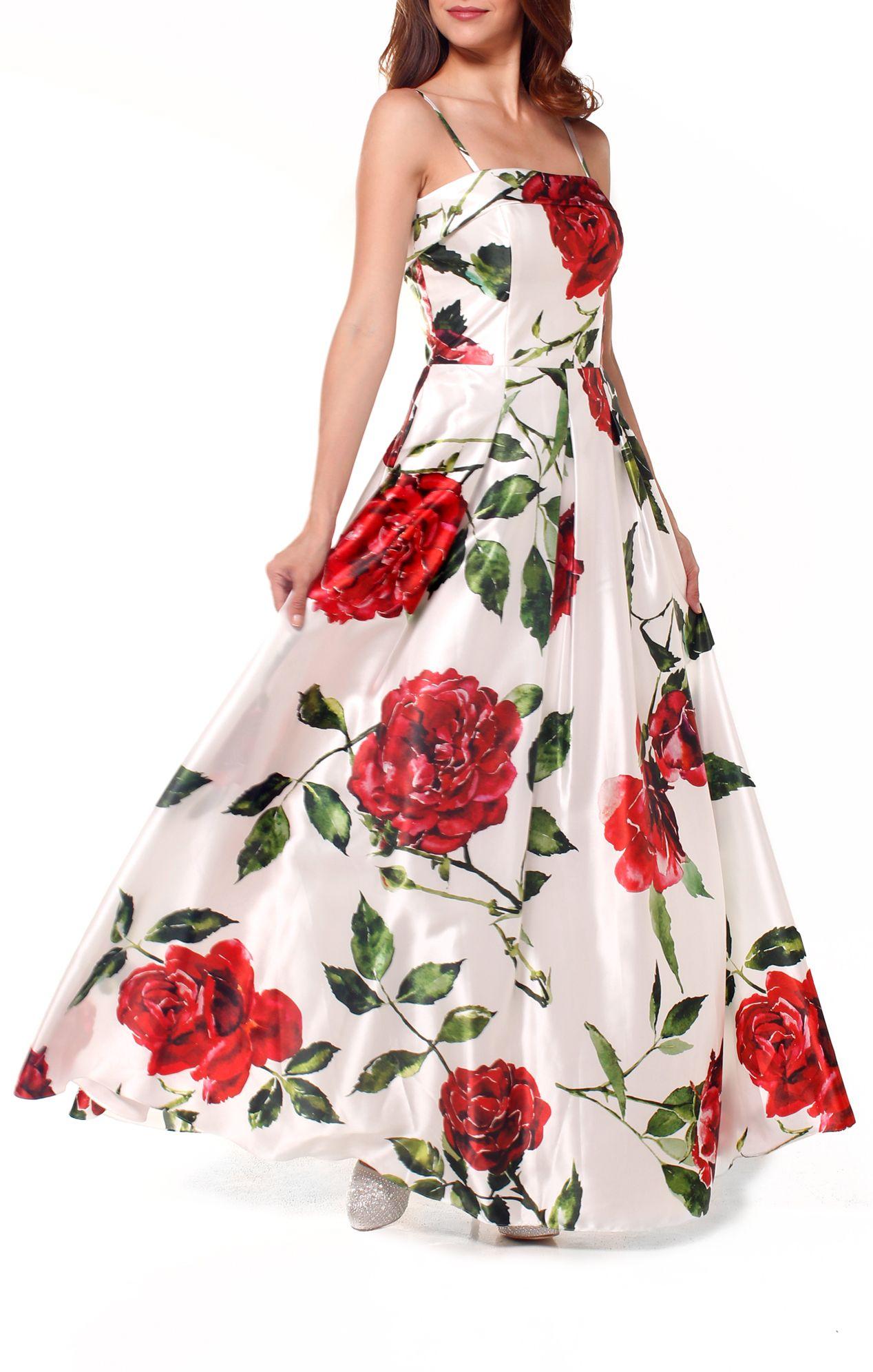 Vestidos de fiestas por flores