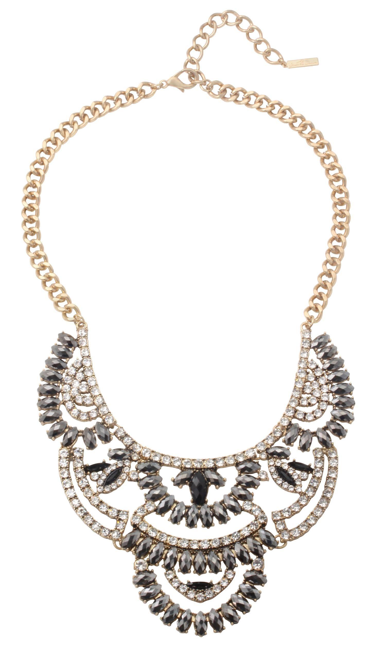 kette shining stones bijou brigitte online shop bling bling bijou pendant necklace y. Black Bedroom Furniture Sets. Home Design Ideas